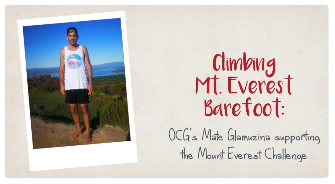 Climbing Mount Everest Barefoot