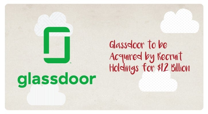 Glassdoor To Be Acquired By Recruit Holdings For $1.2 Billion