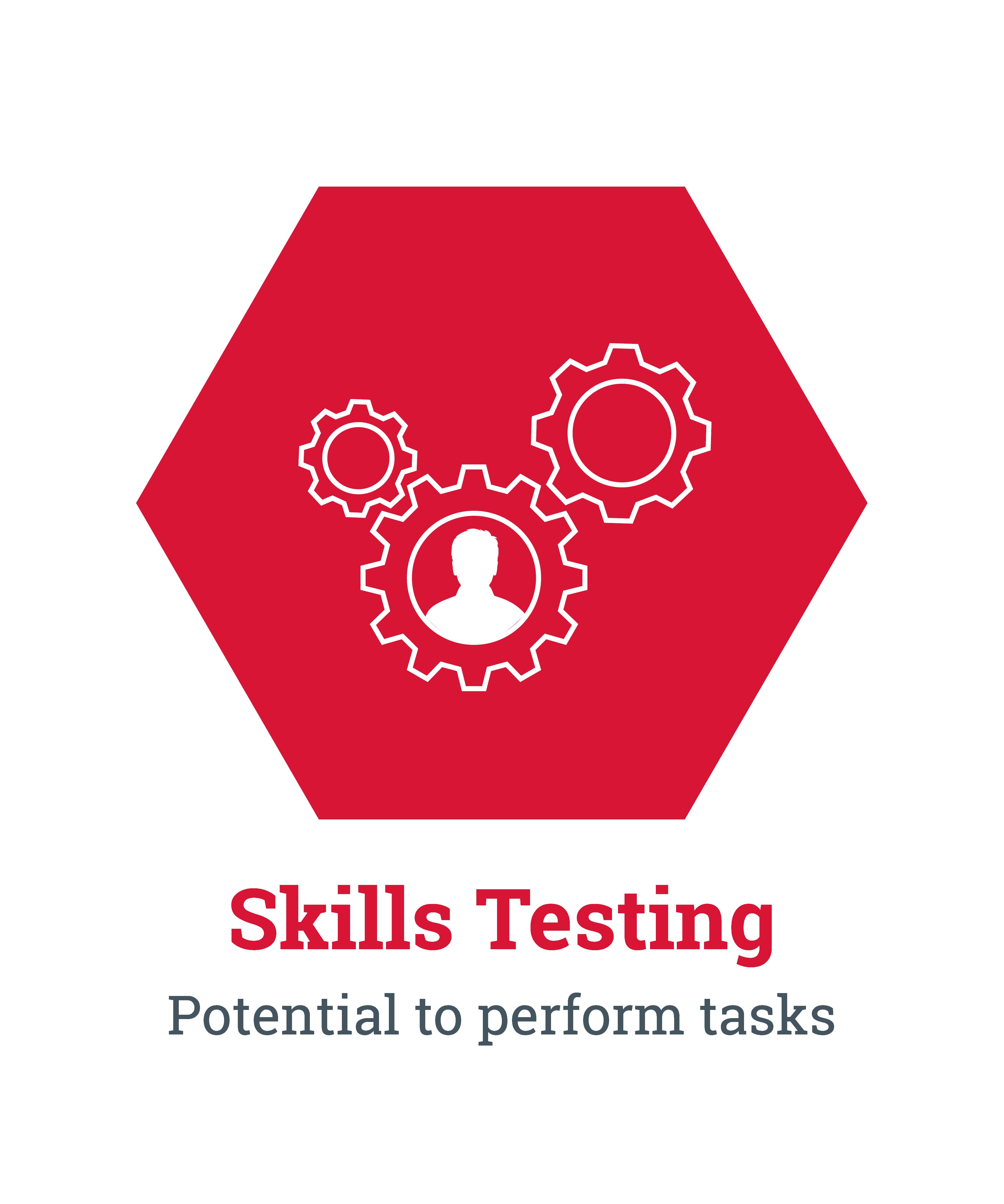 Skills Testing. Potential to perform tasks