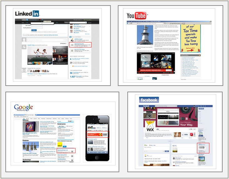 Web Ad Examples
